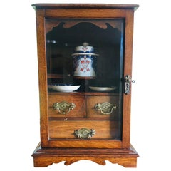 Unusual Oak Smokers Cabinet