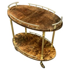 Unusual Oval Aldo Tura Barcart