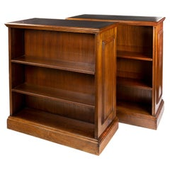 Unusual Pair of Double Sided Bookcases by Waring and Gillow