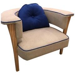 Pair of Mid-Century Style Modern Armchairs
