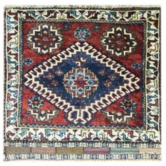 Unusual Qashqai Persian Rug