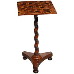 Unusual Regency Side Table