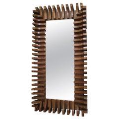 Unusual Sculptural Mirror