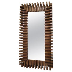 Unusual Sculptural Mirror
