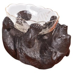 Unusual Victorian Antique Black Forest Bear