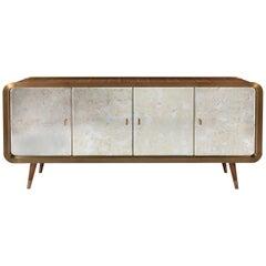 Unveil Sideboard, Bronzed Brass and Walnut, InsidherLand by Joana Santos Barbosa