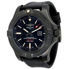 Unworn Breitling Avenger Blackbird 48 V1731010/BD12 Men's Watch in Titanium