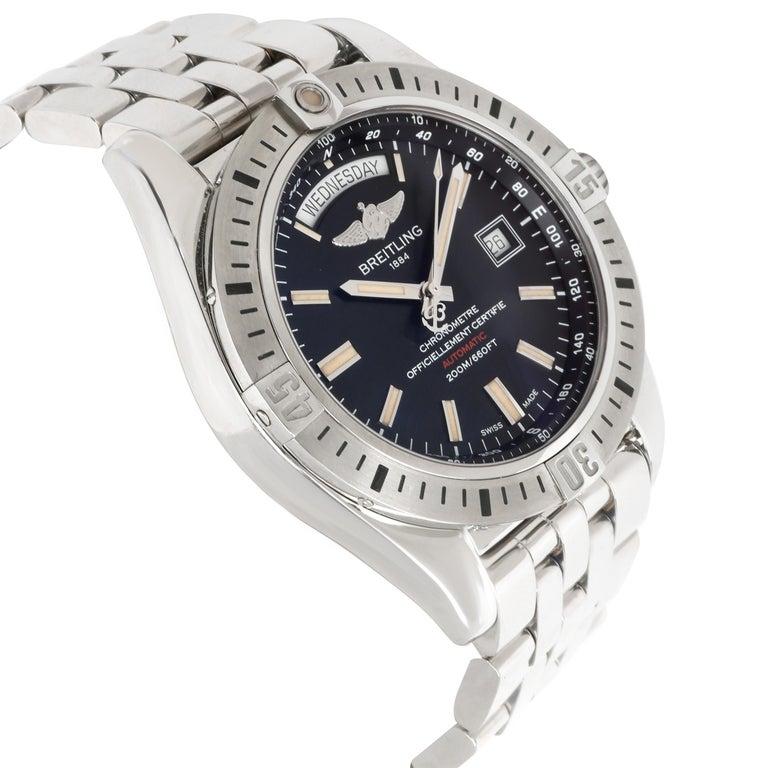 Unworn Breitling Galactic 44 A45320B9/BD42 Men's Watch in Stainless Steel 1