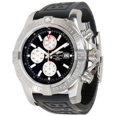Unworn Breitling Super Avenger II A1337111/BC29 Men's Watch in Stainless Steel