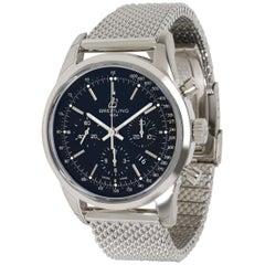 Unworn Breitling Transocean Chronograph AB015212/BA99 Men's Watch in Steel