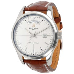 Unworn Breitling Transocean Day and Date A4531012/G751 Men's Watch in Steel