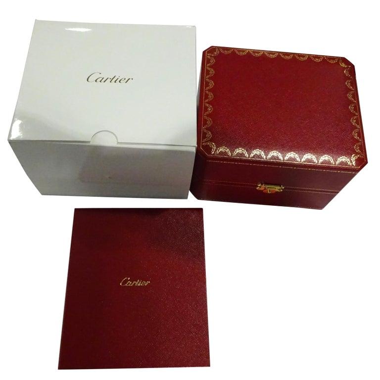 Unworn Cartier Ballon Bleu WE9001Z3 Women's Watch in 18 Karat Yellow Gold In Excellent Condition For Sale In New York, NY