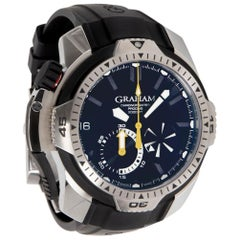 UNWORN Graham Chronofightere Prodive 2CDAV.B02A Men's Watch in Stainless Steel