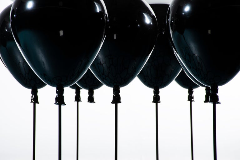 Up! Balloon Coffee Table, Black Edition In New Condition For Sale In London, GB