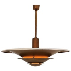 Up-Light Pendant from Louis Poulsen Named A-Loftlampe, Danish Design from 1930s