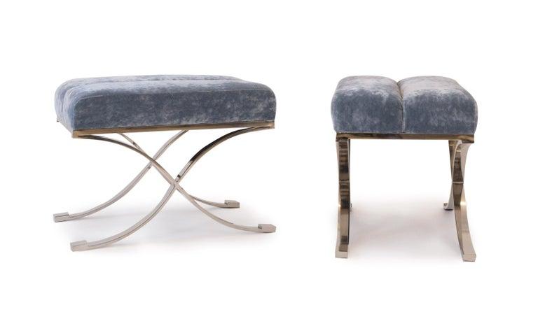 Modern Upholstered Bench For Sale