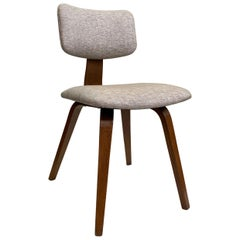 Upholstered Bentwood Side Chair by Thonet