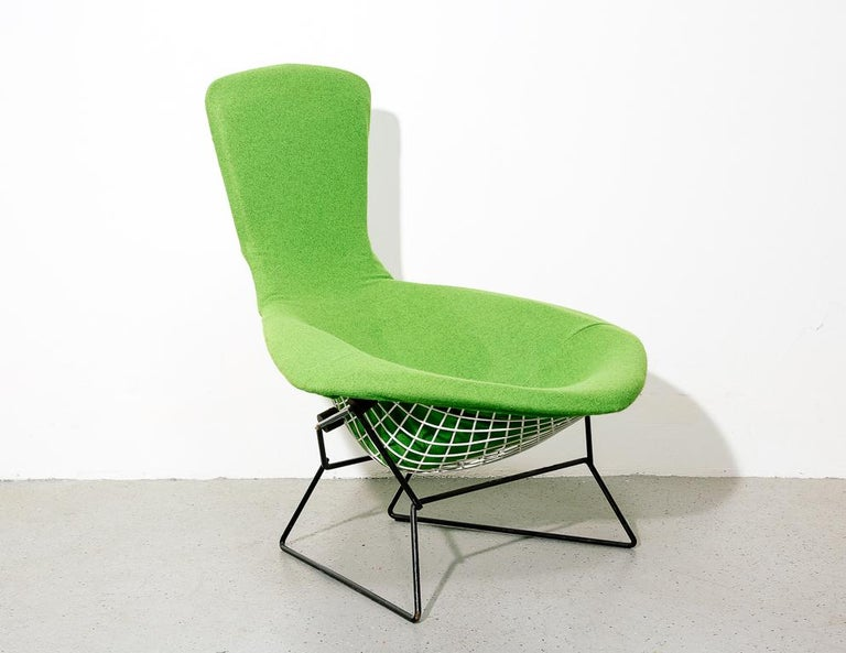 Mid-Century Modern Upholstered Bird Chair by Harry Bertoia for Knoll