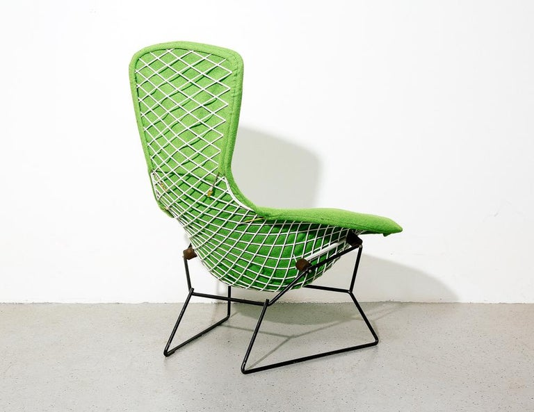 Mid-20th Century Upholstered Bird Chair by Harry Bertoia for Knoll