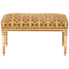 Upholstered Continental Style Bench