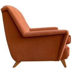 Upholstered Lounge Chair by Heywood Wakefield