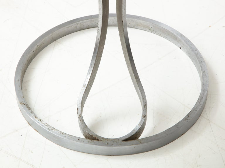 Upholstered Metal Stools by Boris Tabacoff For Sale 5