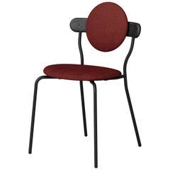 "Upholstered ""Planet"" Chair, Jean-Baptiste Souletie"