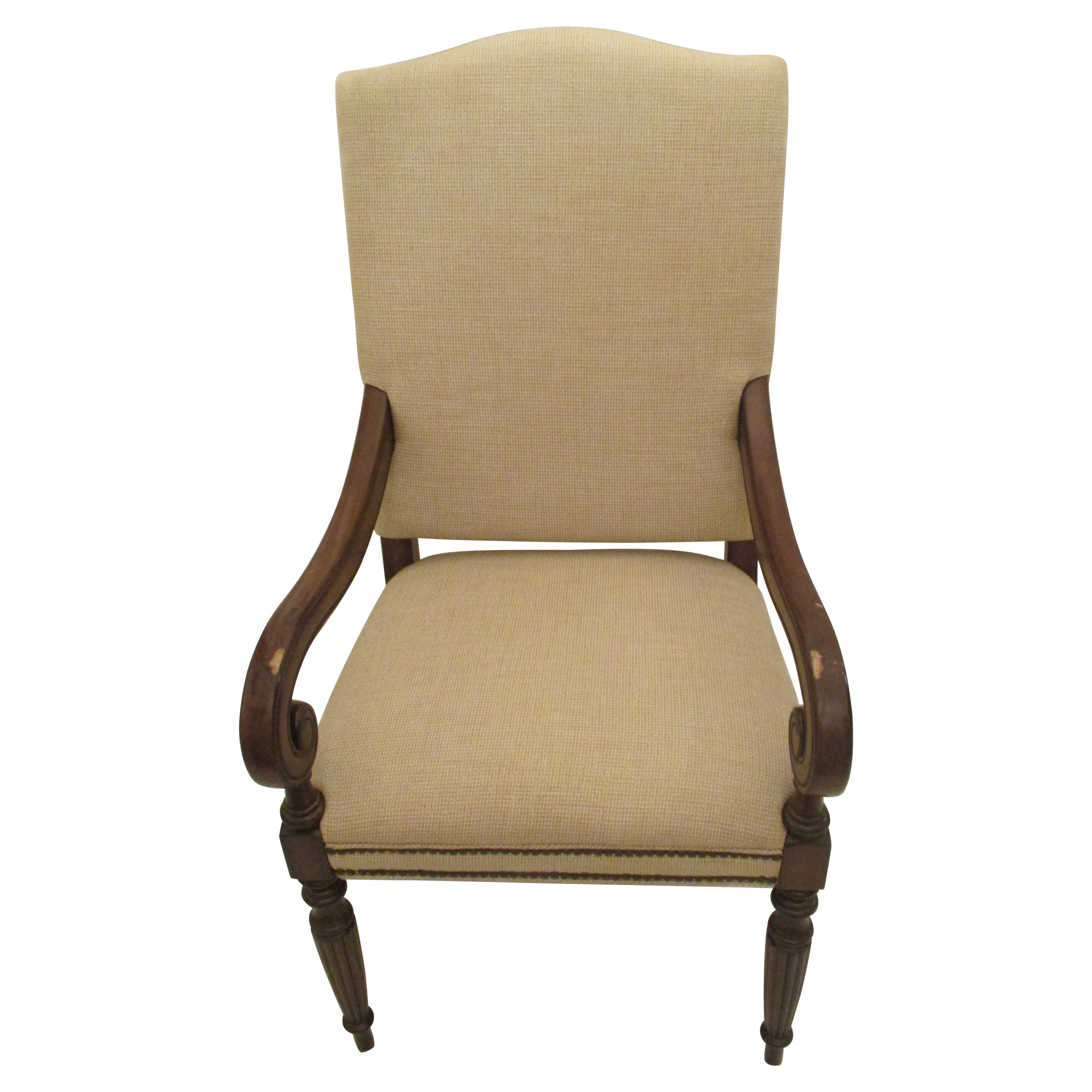 Upholstered Side Chair with Nailhead Trim