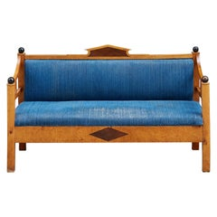 Upholstered Swedish Bench