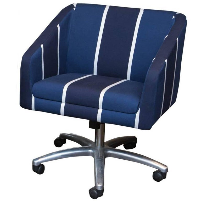Upholstered Swivel Office Chair For Sale