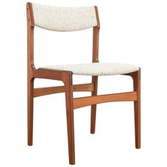 Upholstered Teak Dining Chairs, Set of 30