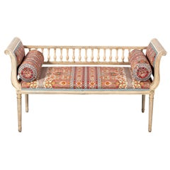 Upholstered Window Bench with Booster Cushions