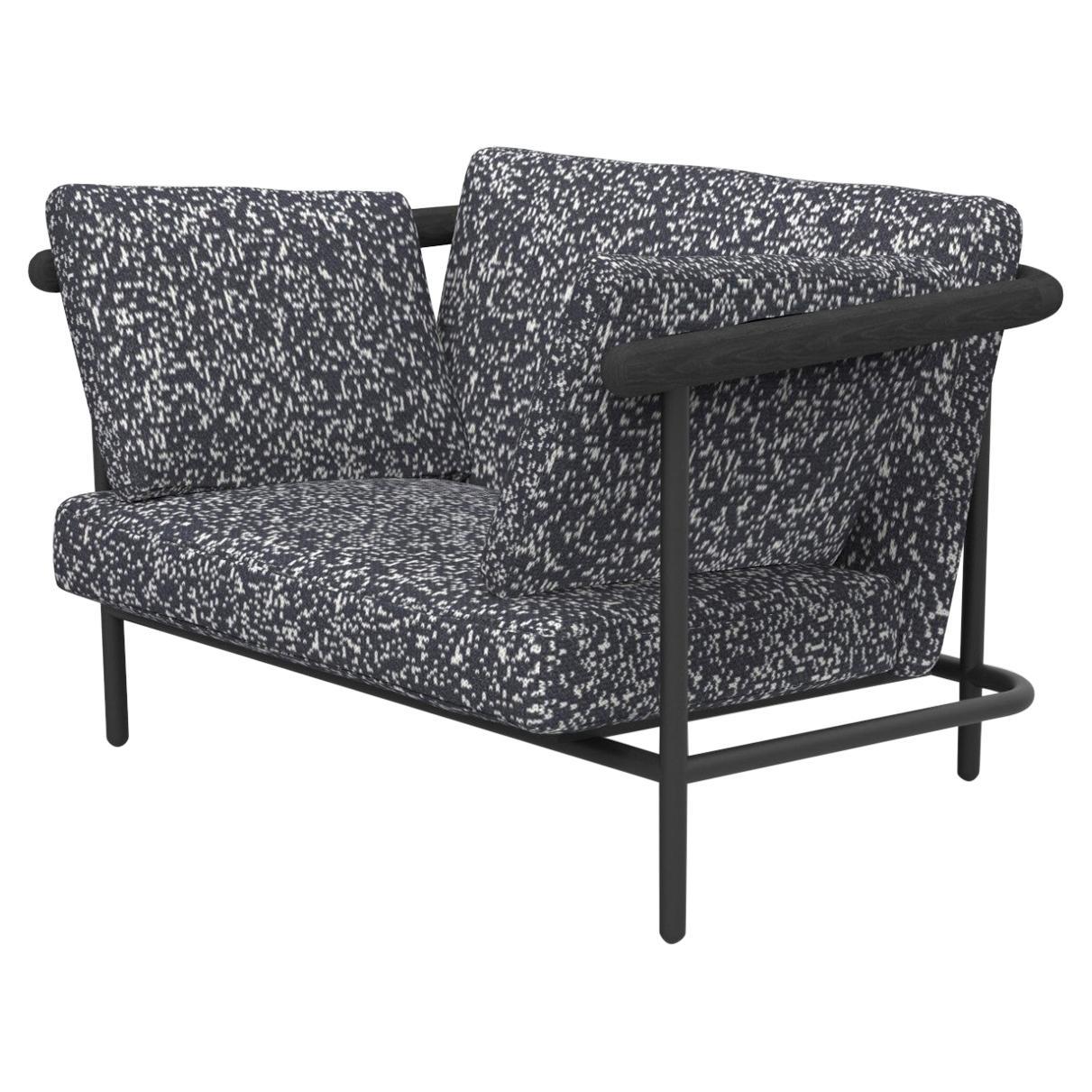 "Upholstered ""X-Rays"" Armchair, Alain Gilles"