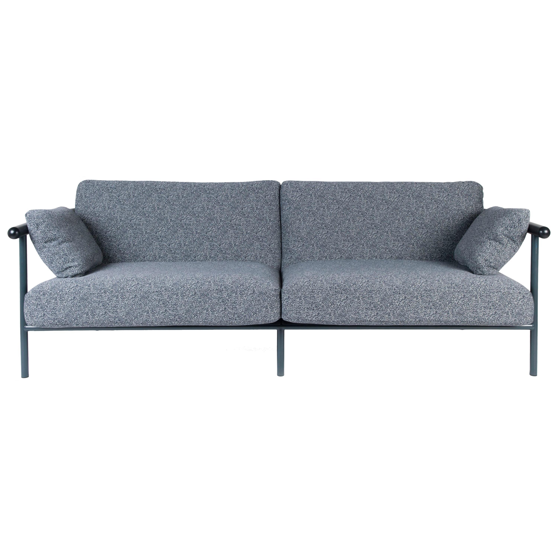 "Upholstered ""X-Rays"" Sofa, Alain Gilles"