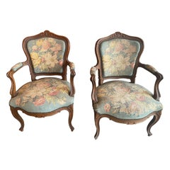 Upholstery Pair of Chairs