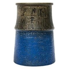 """""""Upsala Ekeby"""" Ceramic Vase Designed by Mari Simmulson Sweden Midcentury"""
