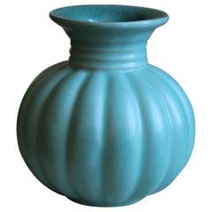 Upsala-Ekeby, Small Vase, Glazed Stoneware, Sweden, 1930s
