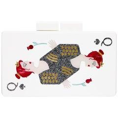 Urania Gazelli 'Queen of Hearts' Box Clutch Bag