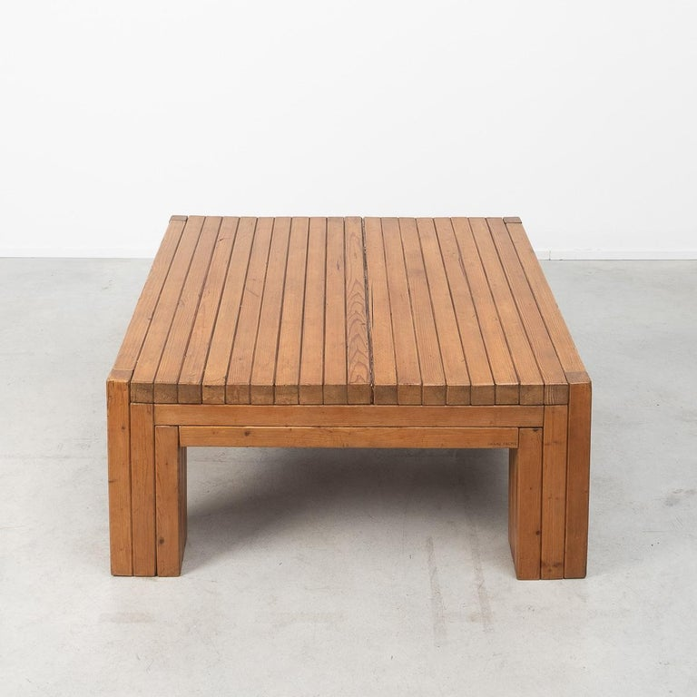 Urano Palma Square Coffee Table, Italy, 1980 In Good Condition For Sale In London, GB