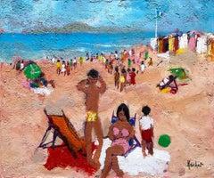 """Beach at Cannes"""
