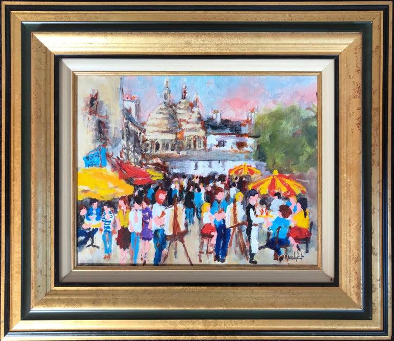 """Montmartre"" - Painting by Urbain Huchet"