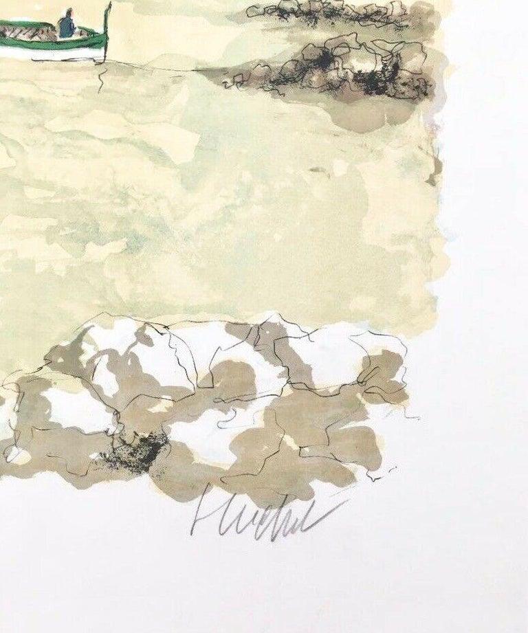 Untitled Landscape  - Print by Urbain Huchet