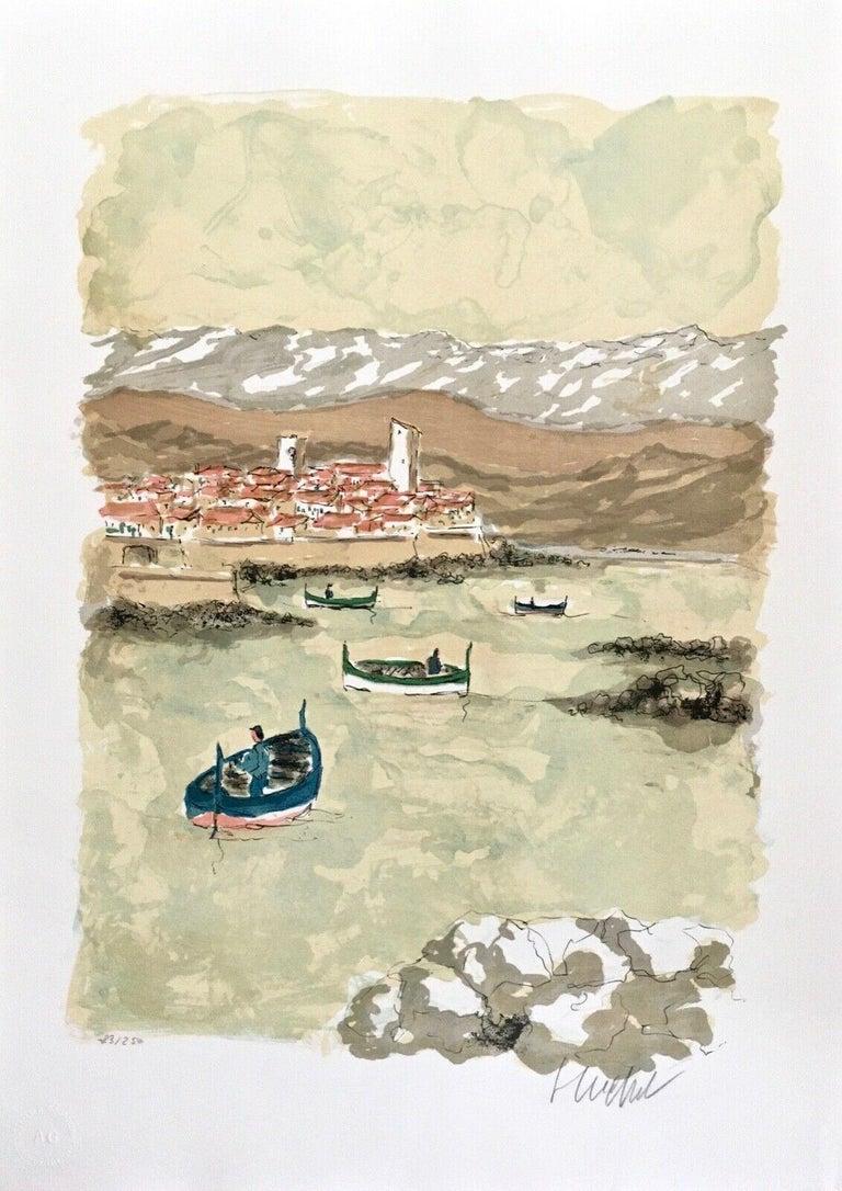 Urbain Huchet Landscape Print - Untitled Landscape