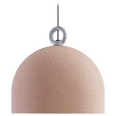 Urban Concrete 25 Suspension in White with Pink Dust Diffuser by Diesel Living