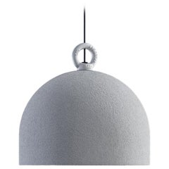 Urban Concrete 25 Suspension in White with Tough Gray Diffuser by Diesel Living