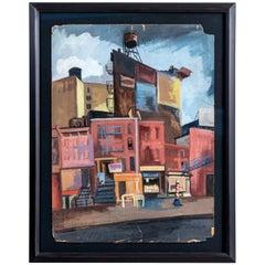 Urban Scene by Jean Artman