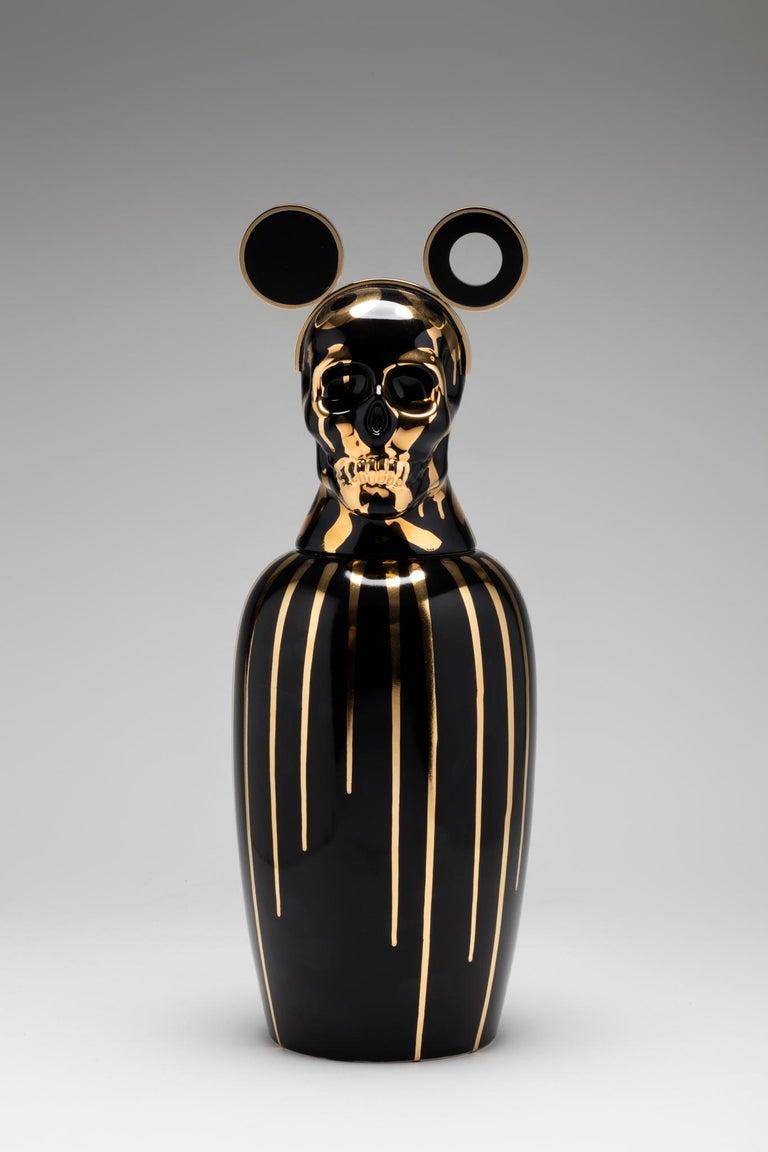 Appliqué Urns, Canopic Jar by Cartú For Sale