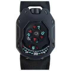 Urwerk Titanium Limited Edition Watch UR-105 TF