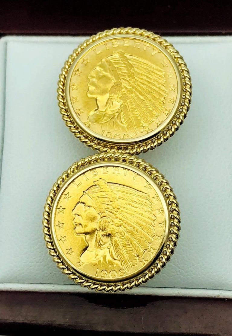 Us 14 Karat Yellow Gold Indian Head Half Eagle Us Coin