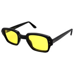 US Military vintage sunglasses, made in U.S.A. Famous BCG yellow polarized